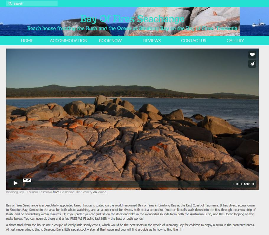 Bay of Fires Seachange